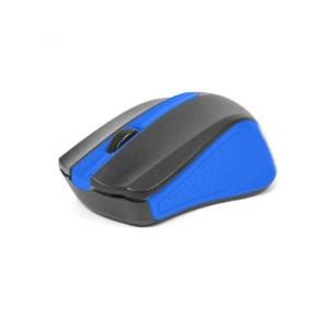 Omega Ενσύρματο Ποντίκι μαύρο/μπλε OM05BL   Περιφερειακά   elabstore.gr