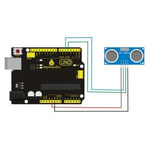 KEYESTUDIO HR-SR04 ultrasonic module KS0328, μπλε, 3τμχ   Gadgets - Αξεσουάρ   elabstore.gr