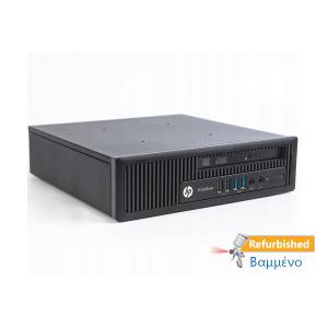 HP 800G1 USFF i3-4130/4GB DDR3/320GB/DVD/8P Grade A+ Refurbished PC | Refurbished | elabstore.gr
