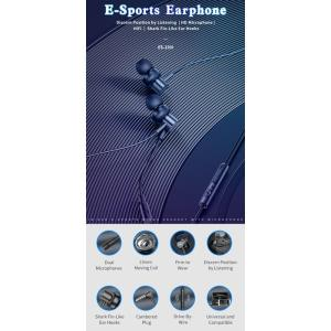 AWEI earphones με μικρόφωνο ES-180I, 3.5mm, 1.2m, μαύρα   Αξεσουάρ κινητών   elabstore.gr