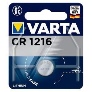 VARTA μπαταρία λιθίου CR1216, 3V, 1τμχ | Μπαταρίες | elabstore.gr