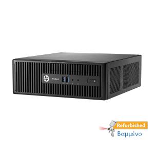 HP 400G2.5 SFF i3-4160/4GB DDR3/500GB/DVD/8P Grade A+ Refurbished PC | Refurbished | elabstore.gr