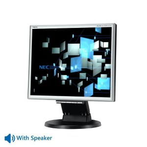 "Used Monitor 175M TFT/NEC/17""/1280x1024/Black/w/Speakers/VGA & DVI-D   Refurbished   elabstore.gr"