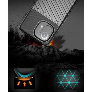 POWERTECH Θήκη Thunder MOB-1634 για Xiaomi Mi 11, μαύρη   Αξεσουάρ κινητών   elabstore.gr
