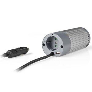 NEDIS PIMS10024 Power Inverter Modified Sine Wave 24 V DC - 230 V AC 100 W 1x Sc | ΜΠΑΤΑΡΙΕΣ / ENERGY | elabstore.gr
