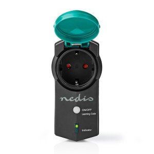 NEDIS RFPOM120FBK RF Smart Plug Outdoor IP44 On/Off RF Mesh Range Extender Schuk | ΦΩΤΙΣΜΟΣ / ΗΛΕΚΤΡΟΛΟΓΙΚΑ | elabstore.gr