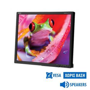 "Used Monitor EA191M TFT/NEC/19""/1280x1024/Black/No Stand/w/Speakers/VGA & DVI-D   Refurbished   elabstore.gr"