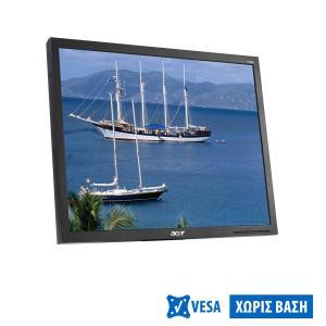 "Used Monitor V193 TFT/ACER/19""/1280x1024/Black/Grade B/No Stand/D-SUB   Refurbished   elabstore.gr"