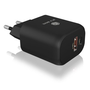 ICY BOX IB-PS102-PD 2-port USB fast charger for mobile devices up to 20 W   ΜΠΑΤΑΡΙΕΣ / ENERGY   elabstore.gr