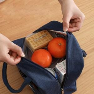 Ισοθερμική τσάντα HUH-0010, 7L, αδιάβροχη, 23x13x21cm, μπλε   Οικιακές & Προσωπικές Συσκευές   elabstore.gr