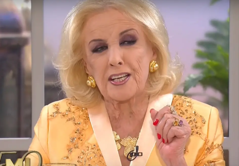 Mirtha Legrand incomodó a Paola Krum