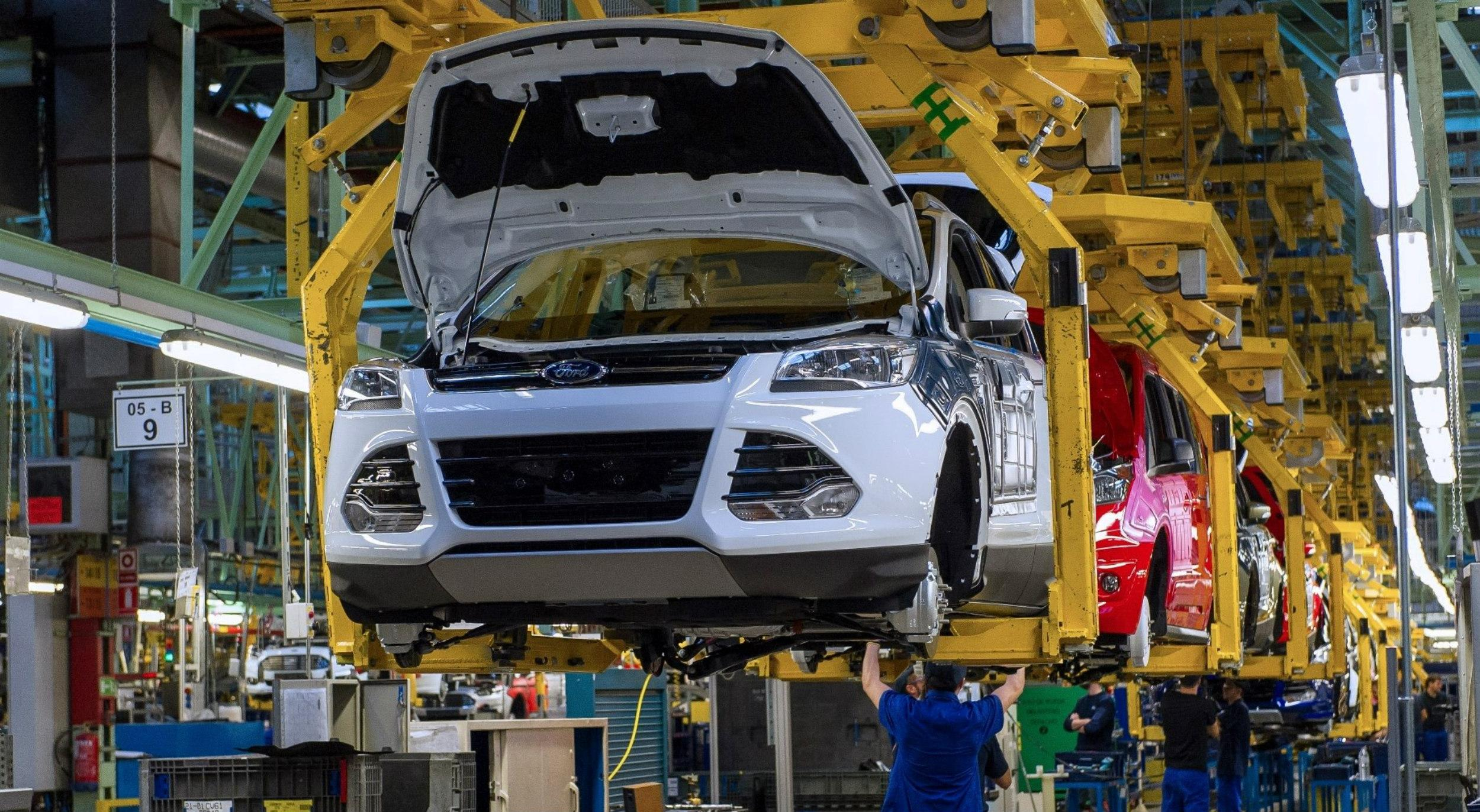 La situación de las fábricas de automotores