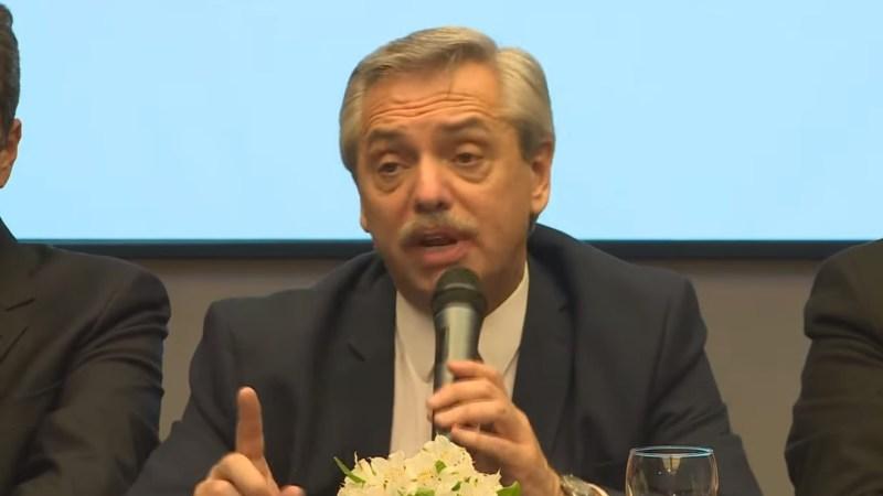 «Pasa cuando un Gobierno no dice la verdad sobre la economía», destacó Fernández