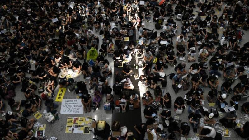 Nuevas manifestaciones en Hong Kong