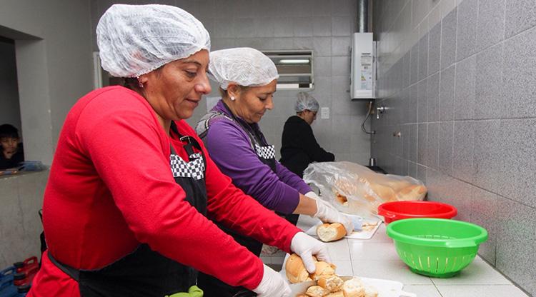 «La Iglesia y CGT piden la emergencia alimentaria»