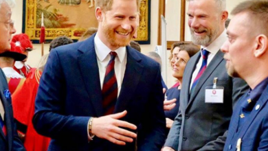 Photo of El príncipe Harry celebra el triunfo del equipo de rugby de Inglaterra con un afectuoso mensaje