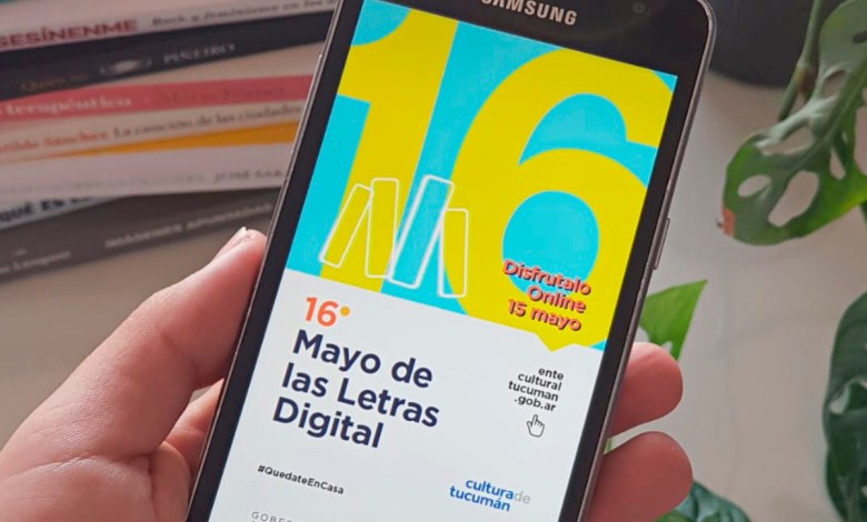 Mayo de Letras Digital en Youtbe.