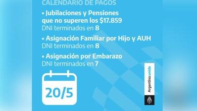 Photo of Hoy cobran los jubilados y pensionados con DNI terminado en 8