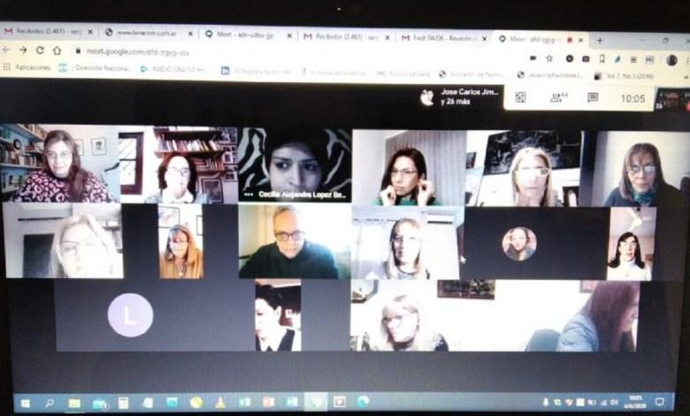 Sesión virtual para Filosofía y Letras.