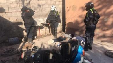 Photo of Operativos en El Colmenar: desbaratan un desarmadero de motos y detienen a dos sujetos
