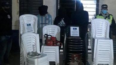 Photo of En Tafí Viejo aprehendieron a tres sospechosos de robar en un reconocido salón de fiesta