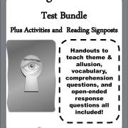 "Cover for ""Among the Hidden"" Test Bundle plus Activities and Reading Signposts"