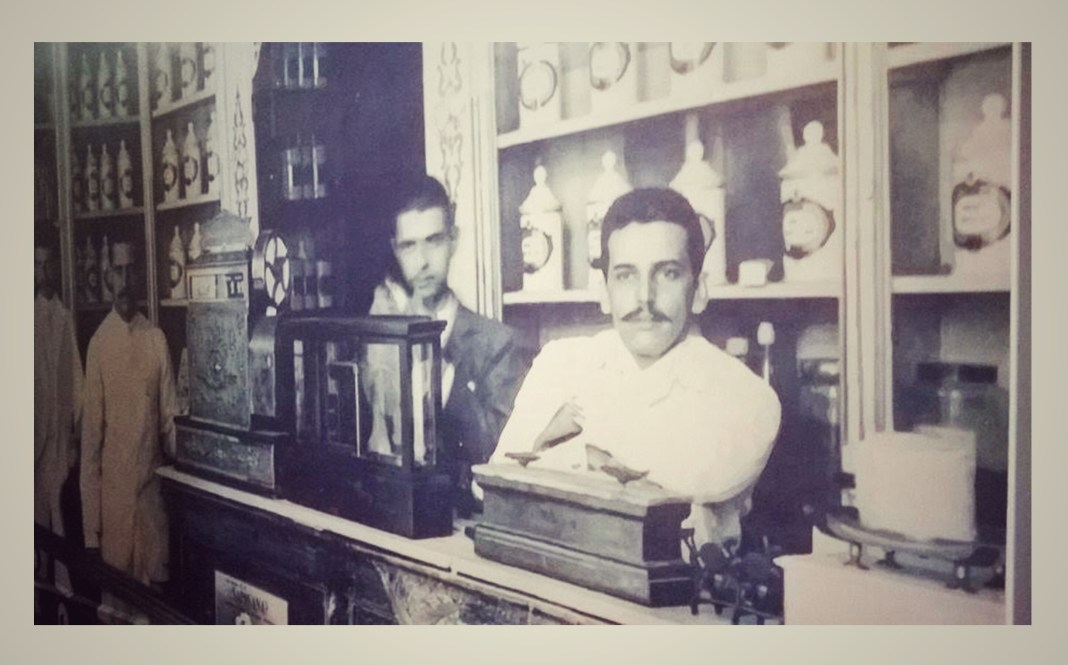 La farmacia del siglo diecinueve