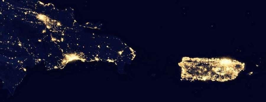 SAPR - Puerto Rico visto desde el espacio