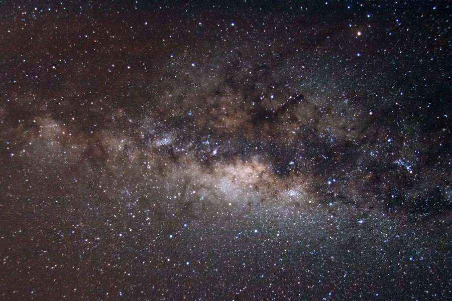 SAPR - Foto de la Vía Láctea