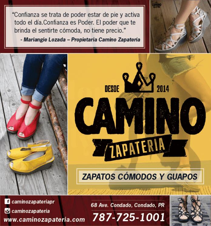 Anuncio Camino Zapateria Agosto 2017