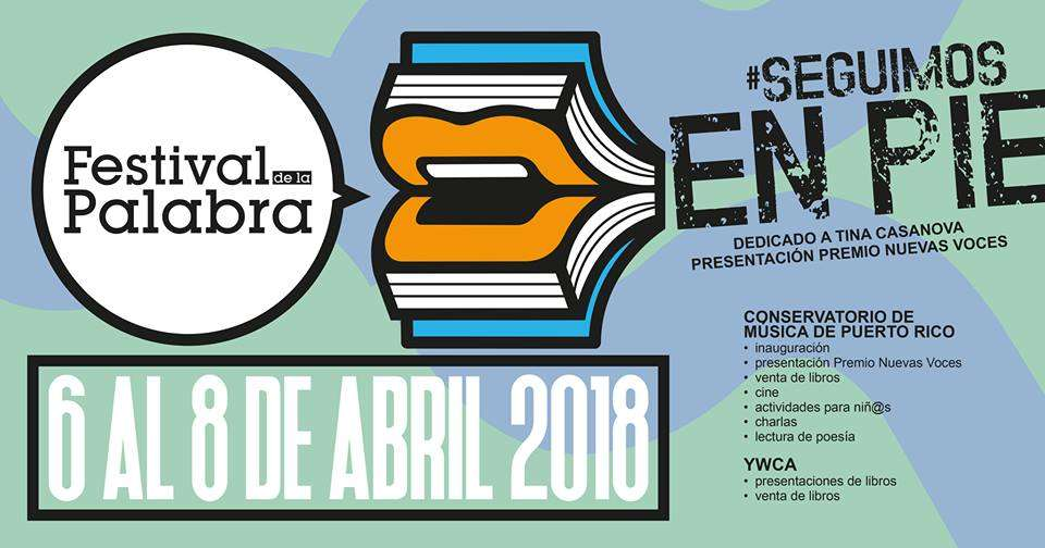 Festival de la Palabra Abril 2018