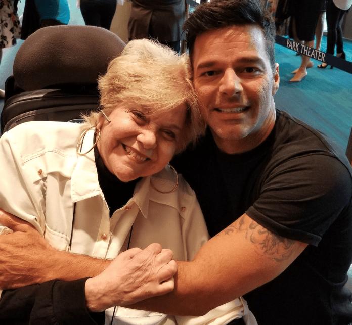 Sandra Zaiter y Ricky Martin Agosto 2018