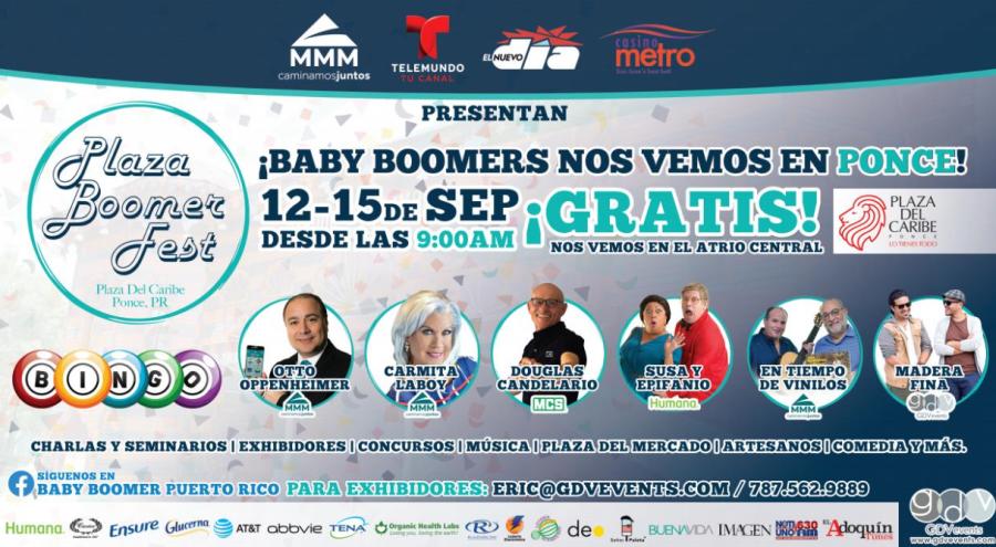 Plaza Boomers Fest Septiembre 2019