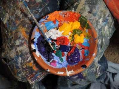Taller demostrativo de pintura