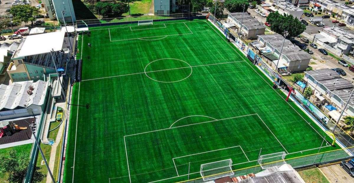 parque de fútbol