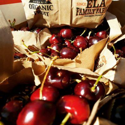 ELA sweet cherries in bags