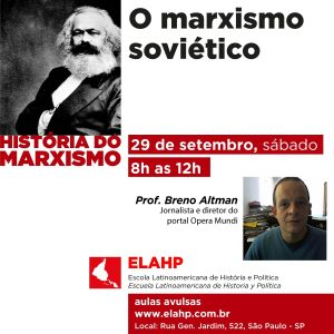 O marxismo soviético, com Breno Altman