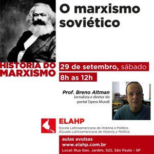 Read more about the article O marxismo soviético, com Breno Altman
