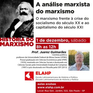 Read more about the article A análise marxista do marxismo, com Juarez Guimarães