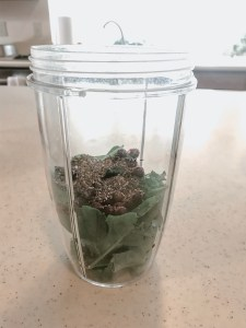 Chia seeds and Coconut oil