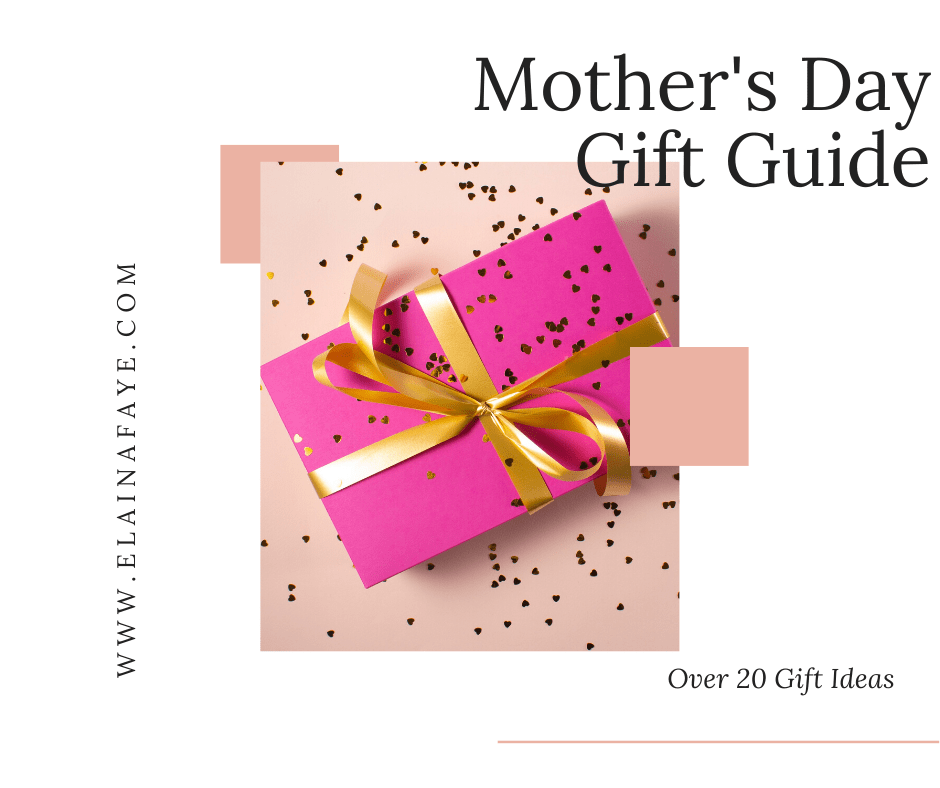 Mother's Day Gift Guide. Over 20 gift ideas for mamas. There are gifts for under $25, gifts under $50, and gifts under $100. You will find personalized gifts that are unique and sentimental.