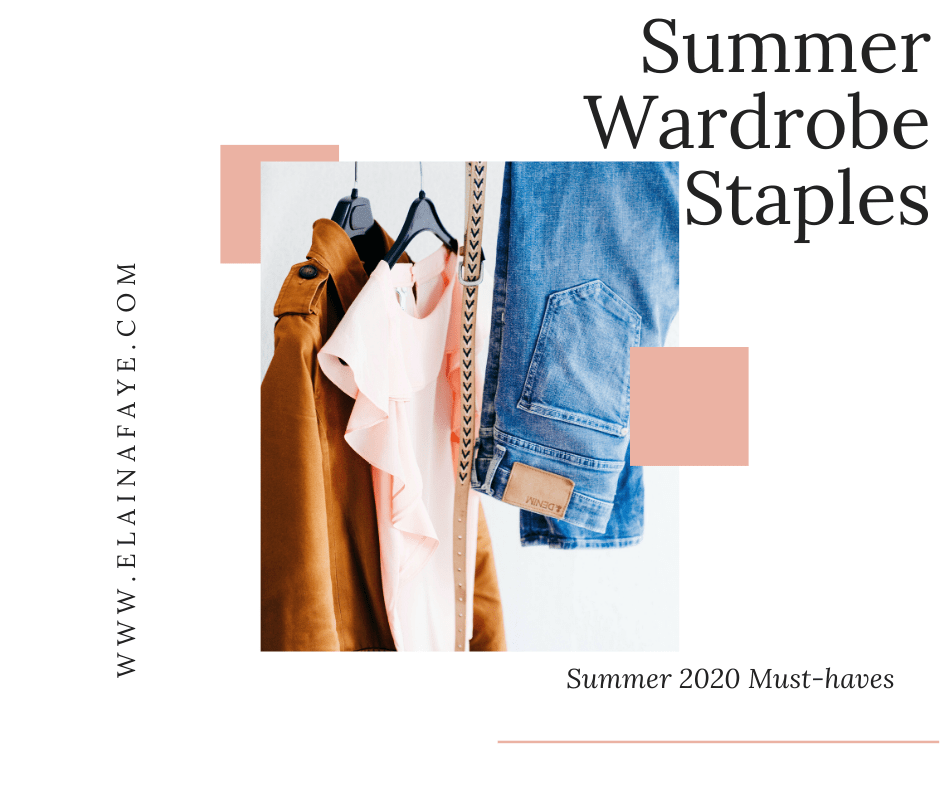 Do you want to look and feel your best this summer? Check out my list of 25 summer wardrobe staples. I've linked all my favorite must-have summer clothes and how I style them. These clothes will last for years. You will also find shoes and accessories for the summer.