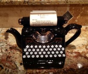 teapot typewriter