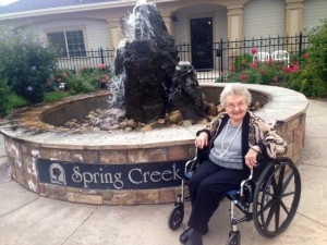 mom spring creek