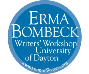 erma bombeck writer badge