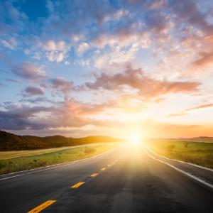 drive in sunshine