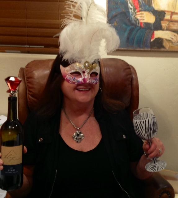 elaine party mask