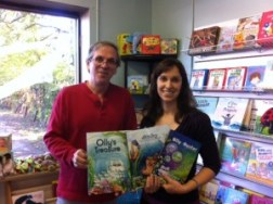 With Ken Kennedy, owner of Edgewater Books