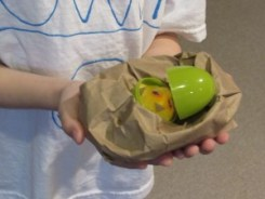 Making our own baby birds!