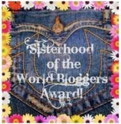 Sisterhood blogger award